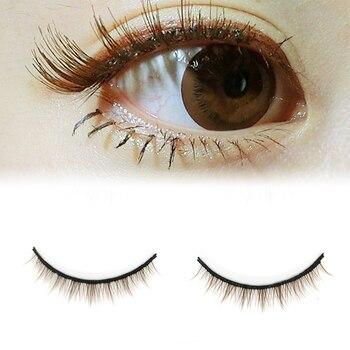 5 Pairs 3D Mink lashes Natural Cross False Eyelashes Short Messy Makeup Fake Eye Lashes Extension Make Up Beauty Tools maquiagem