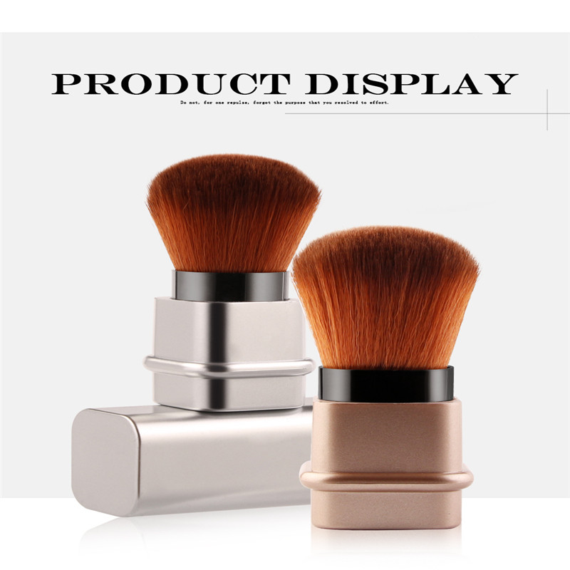 Retractable Single Makeup Brush High Quality Upscale Makeup Brush Makeup Tools Kabuki Loose Powder Blush Brush Sculpting Brush