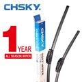 Chsky u-tipo universal car windshield wiper blade com o macio de alta qualidade natural borracha 14 16 17 18 19 20 21 22 24 26 Polegada