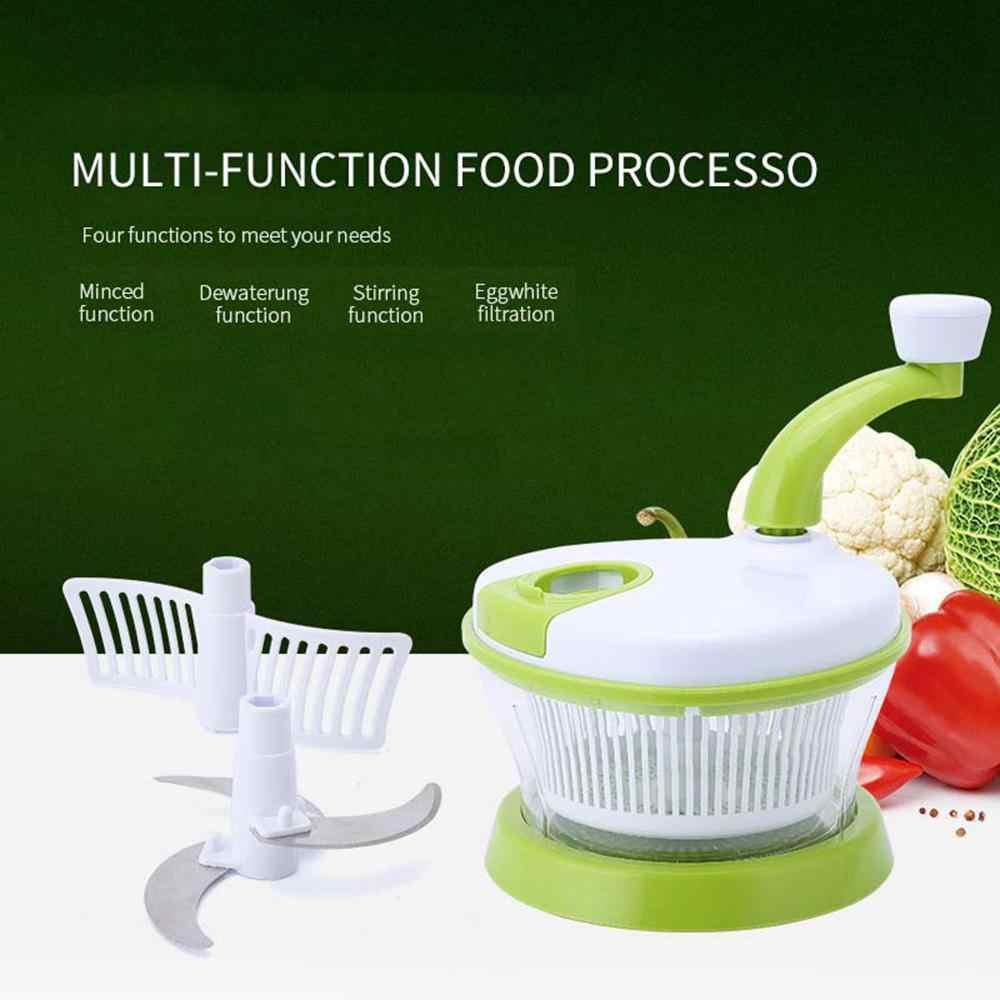 Manual de domicílios Moedor de Carne 4 Em 1 Multi-função de Cozinha Processador De Alimentos Manual do Vegetal Chopper Liquidificador Ovo Utensílios de Cozinha