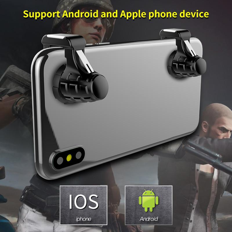 Image 2 - Pubg Mobile Gamepad Pubg Controller for Phone L1R1 Grip with Joystick / Trigger L1r1 Pubg Fire Buttons for iPhone Android IOS-in Gamepads from Consumer Electronics