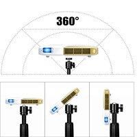 Клип проекторы держатель портативный штатив для камера телефон мини кронштейн для проектирования изображения регулируемая головка 360 град
