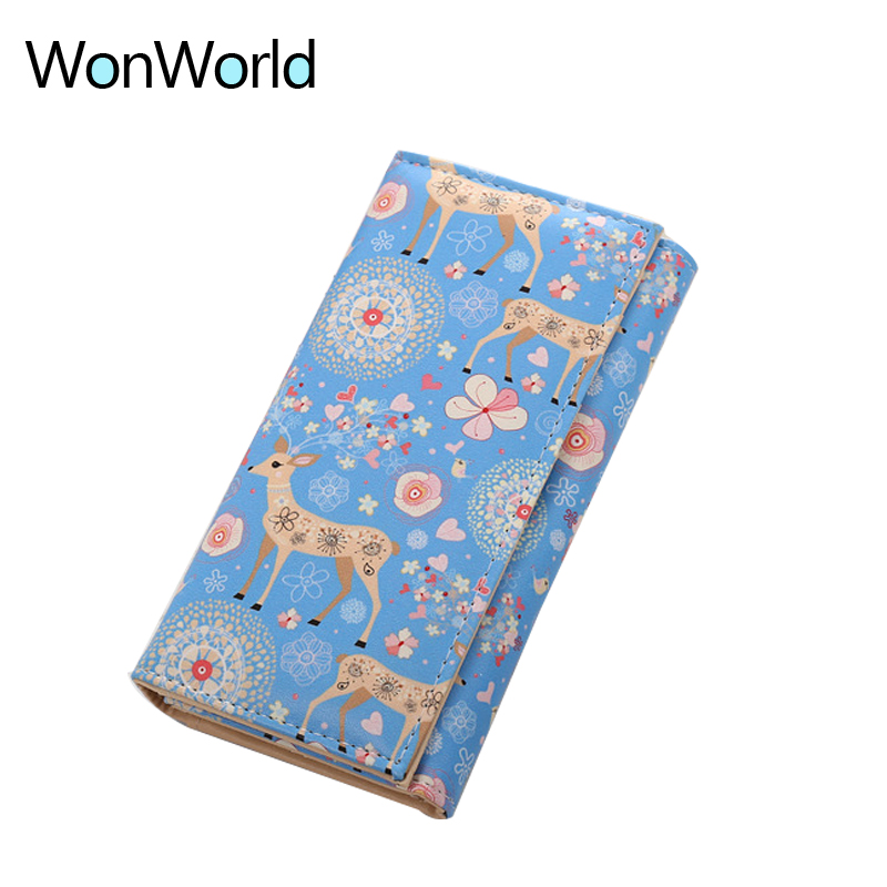 Wonworld Fashion printing Money bag women wallets and Coin purses Long lady Travel card Holder wallet Clutch purse Zipper Poucht motorcycle rear hydraulic brake master cylinder pump for 50cc 70cc 110cc 125cc 150cc 250cc thumpstar atv pit pro dirt bike