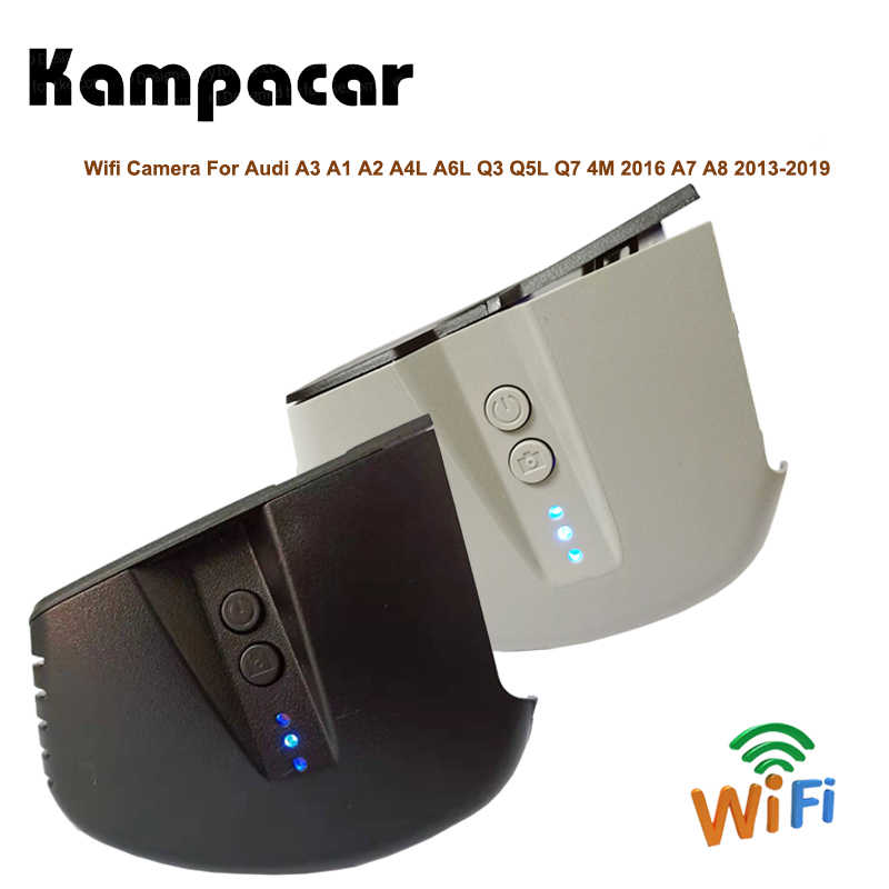 Kampacar HD Автомобильный Wi-Fi камеры DVR авто камеры для Audi A3 седан 2015 A1 A2 A4L A6L Q3 Q5L Q7 и формирующая листы для кровли 4 м 2016 A7 A8 2017 2018 2019 Авто Регистраторы