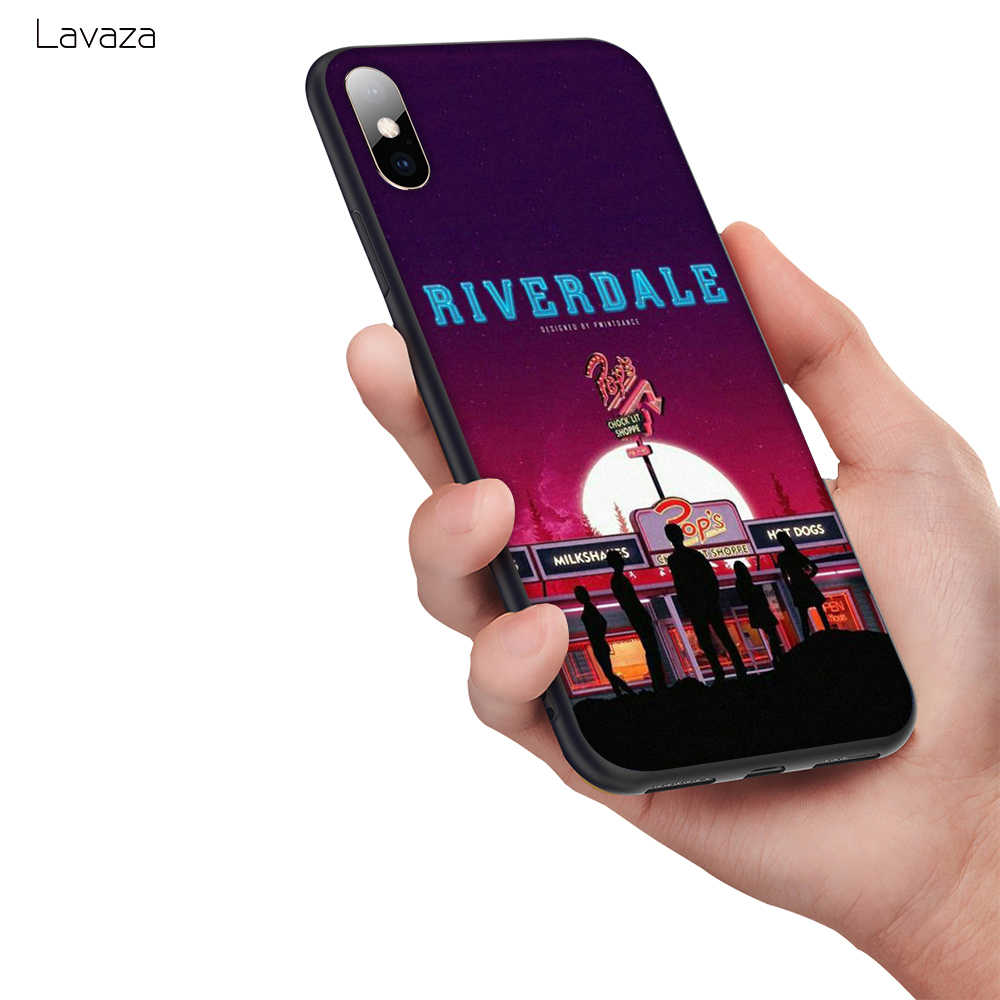 Lavaza American TV Riverdale Soft Silicone Case Cover for Apple iPhone 6 6S 7 8 Plus 5 5S SE X XS MAX XR TPU Cases