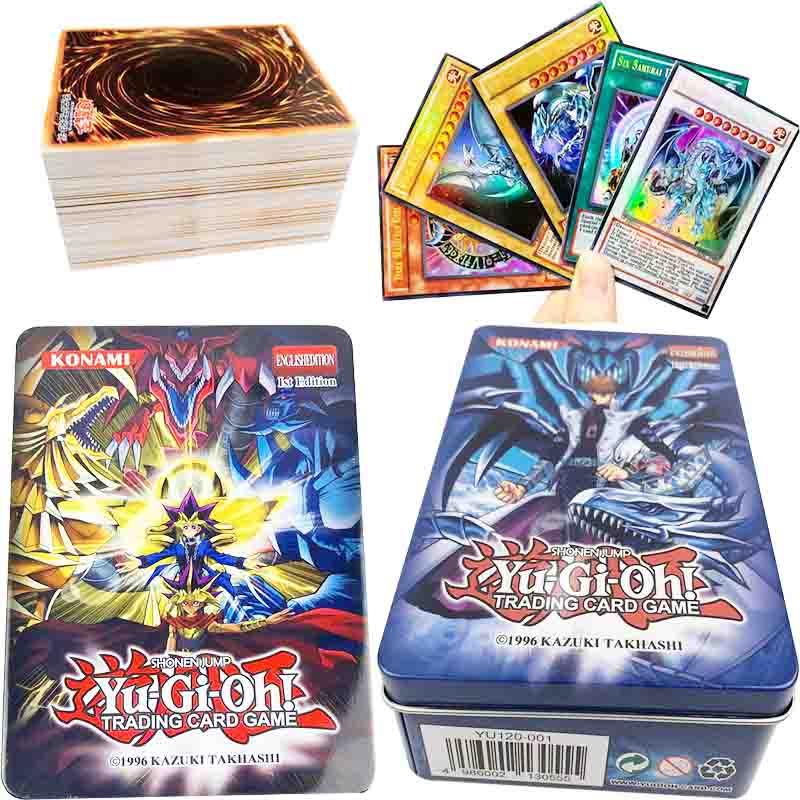 60pcs Yu-Gi-Oh! Anime Style Cards Dark Magician Exodia Obelisk Slifer Ra Yugioh DM Classic Orica Proxy Card Childhood Memory