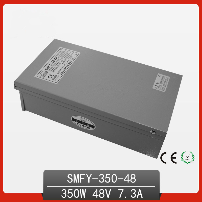 350W 48V 7.3A Rainproof outdoor Single Output Switching power supply smps AC TO DC for LED elle effe балетки