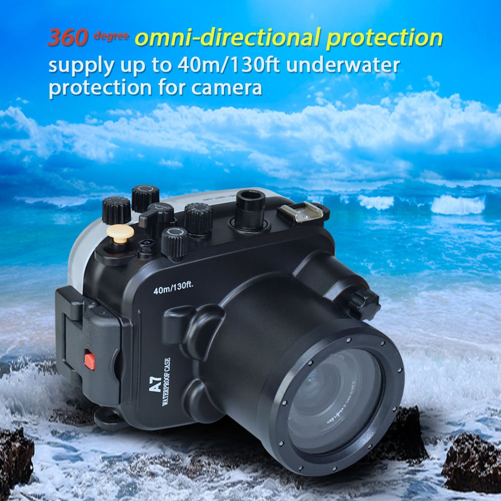 camera waterproof box diving shooting case underwater camera housing bag (3)