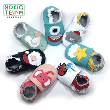 Newborn Shoes Baby Moccasins First-Walkers Monkey Girls Infant Baby Genuine-Leather Soft-Soled-Toddlers