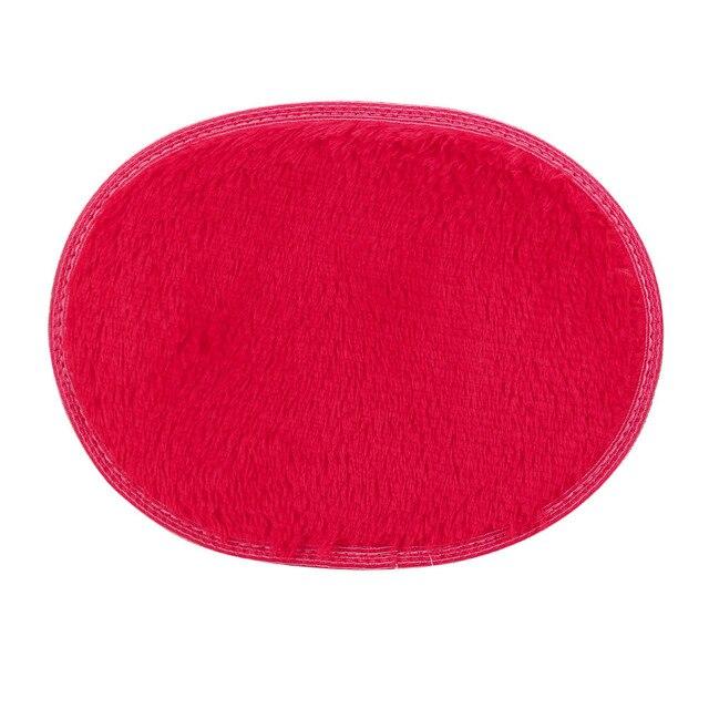 2018 Multicolore Caldo di Casa e Cucina 1 pz 40*60 cm Zerbino Anti-Skid Fluffy Shaggy Area Tappetini camera Da Letto di casa Pavimento Del Bagno Porta Zerbino fkk4
