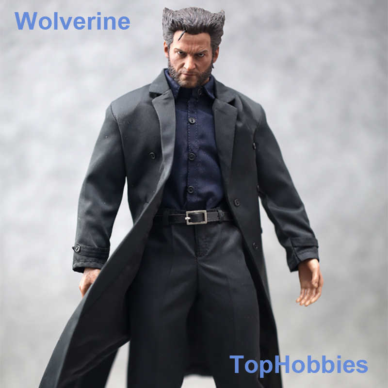 TopToys 1/6 Scale Clothes Accessories Wolverine Coat Windbreaker Suit For 12