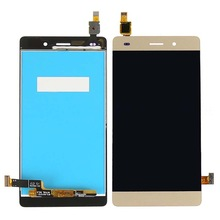5.0inch P8 lite LCD Display+Touch Screen Digitizer Glass Panel For Huawei Ascend P8 lite lcd Replacement black white gold color