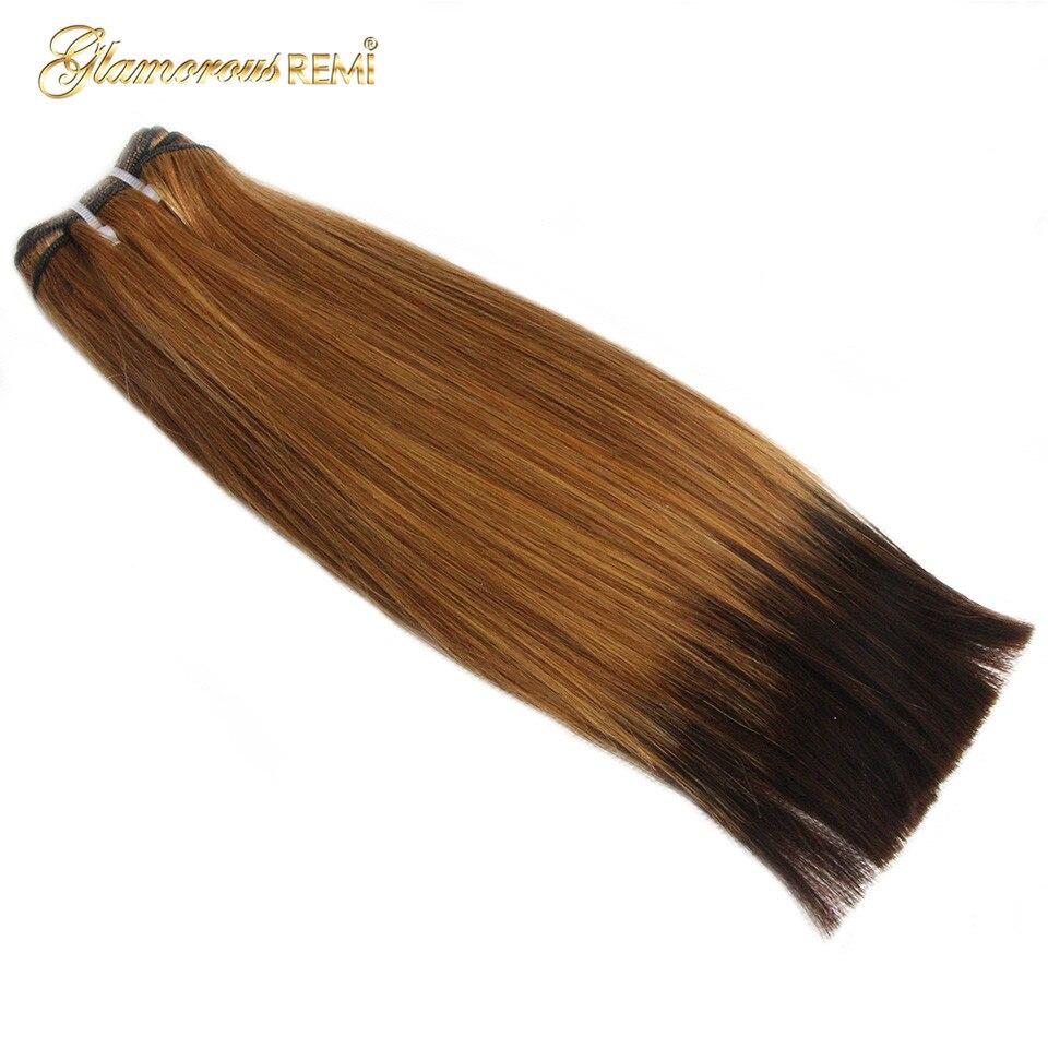 feixes de cabelo com fechamento em linha