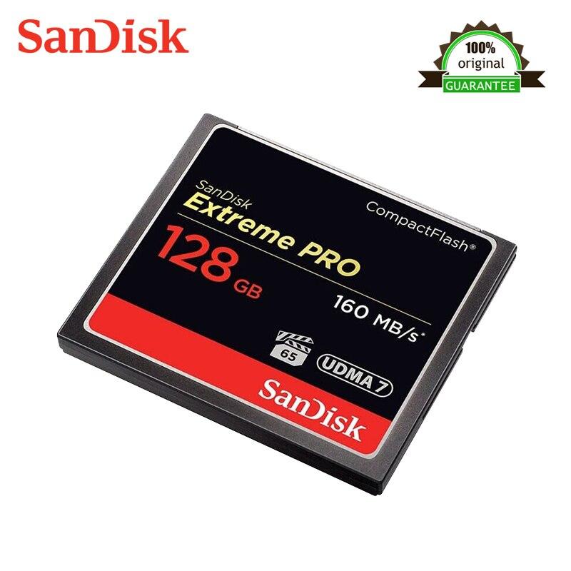 Sandisk Extreme Pro Compactflash Memory CF Card 128G Upto