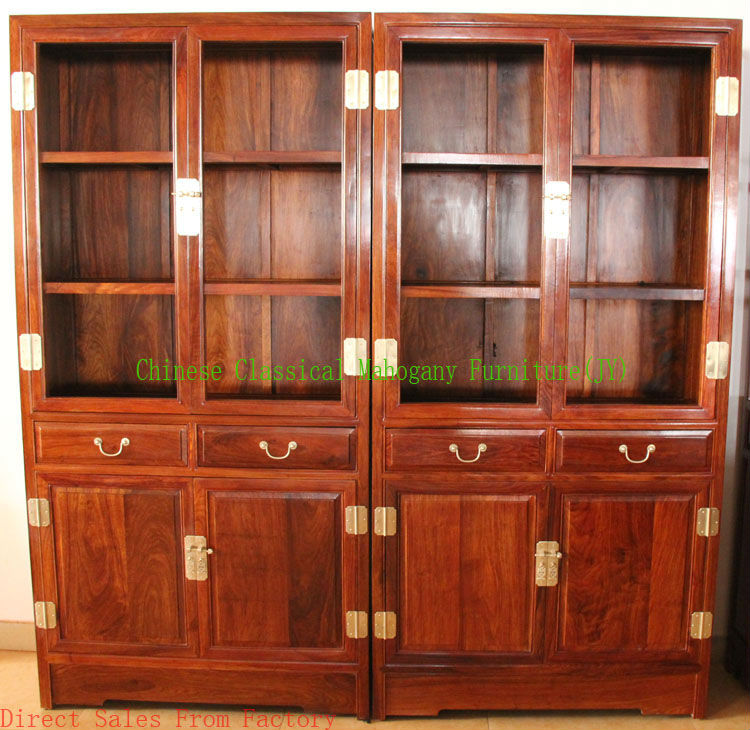Chinese Classical Mahogany Furniture Rosewood Living Room Bookcase Office Style Luxurious In Bookcases From