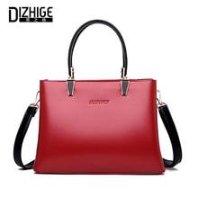 DIZHIGE Brand Luxury PU Women Handbag High Quality Crossbody Bags For Large Capacity Solid Rivet Female Shoulder Bag Tote