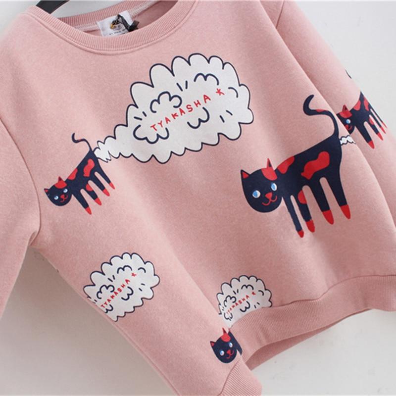 kitty sweatshirt