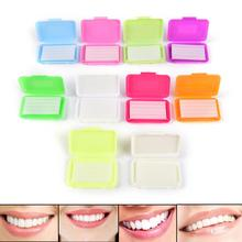 OSLDENT 100 Boxes Orthodontic Dental Wax Fruit Scent for Bracket Braces Gum Irritation mixed