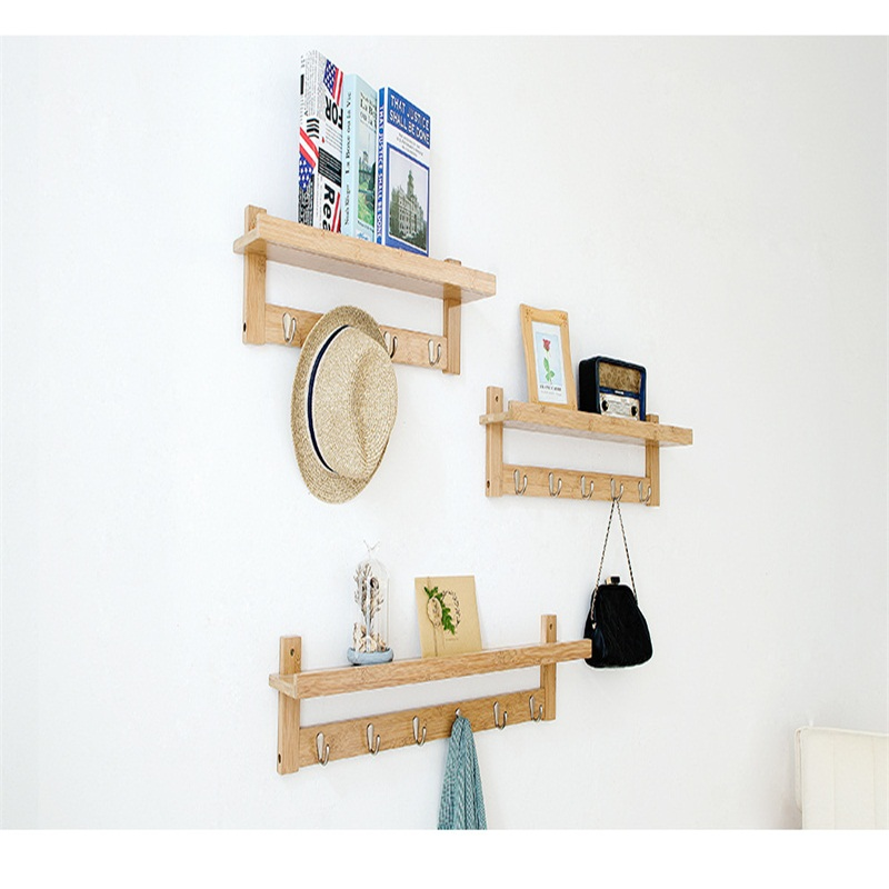 Wall hanging Hangers Wall mount coat racks Household wall partitions Shelf wall hanging shelf metal