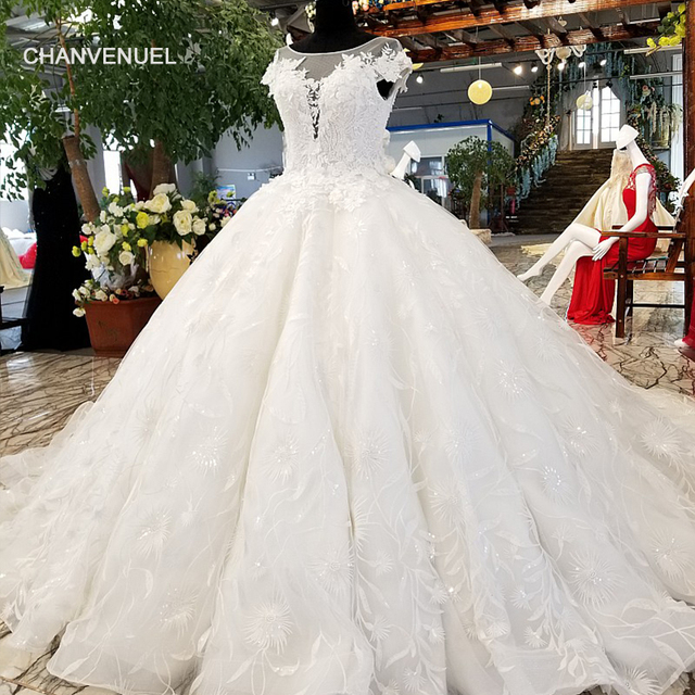 Ls91120 Aliexpress Wholesale Beauty Bridal Wedding Dress Made In