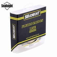 SeaKnight 100% Japan Material Fluorocarbon Fishing Lines 100M Carbon Fiber Leader Fly Line 3-32LB Fast Sinking for Carp Fishing