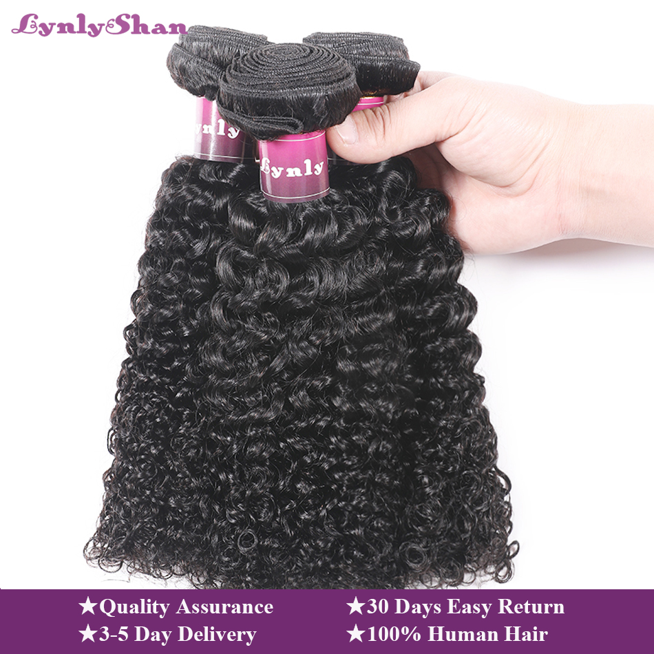 afro kinky curly bundles with closure 100% remy human hair weave bundles with closure Peruvian hair 1/3/4 bundles with closure