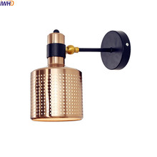 IWHD Nordic LED Wall Light Fixtures Wandlamp Bedroom Bathroom Beside Lamp LED Wall Lights Sconce Luminaire Lampara Pared