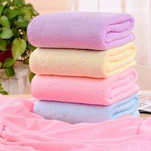 Quick-drying Washcloth 70 X140cm Microfiber Absorbent Bath Towel Soft Shower Towel Soft fast drying soft microfiber bath towel beach towel 70 140 cartoon cute bear head baby towel high absorbent household two wear