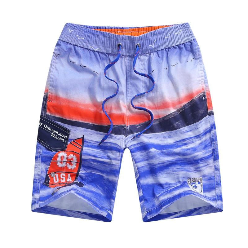 2018 Brand Quick Drying Board Shorts Heart Print Trunks Mens Beach Short Bermuda Masculinade Marca Homme Shorts Drop Shipping Year-End Bargain Sale Men's Clothing