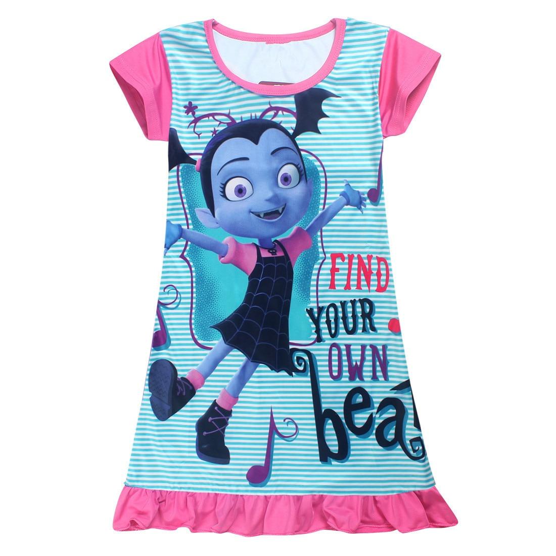 Elsa Junior Vampirina Vamp Batwoman Mädchen Kleid Sommer Kind ...