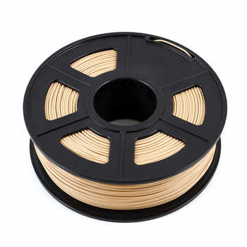 3d プリンタフィラメント 1.75 ミリメートル 1 キロ/2.2lb 木製プラスチック複合素材ベースに PLA 含有木粉