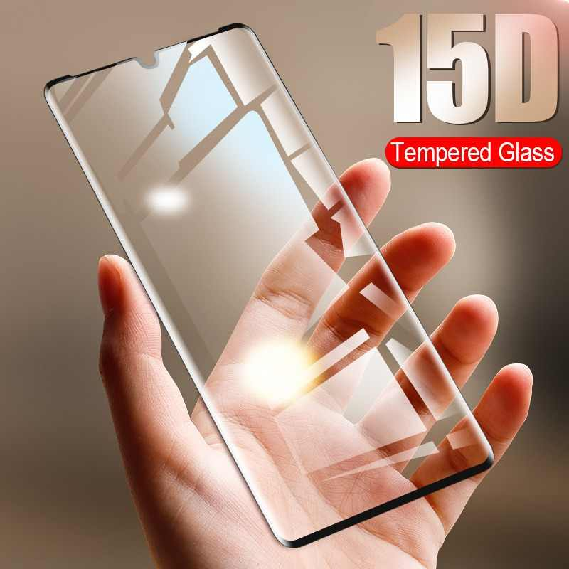 ZNP 15D Tempered Glass For Huawei P30 P20 P10 Lite Screen Protector Film For Honor 9 lite 10 Huawei P30 P20 Pro Protective Glass