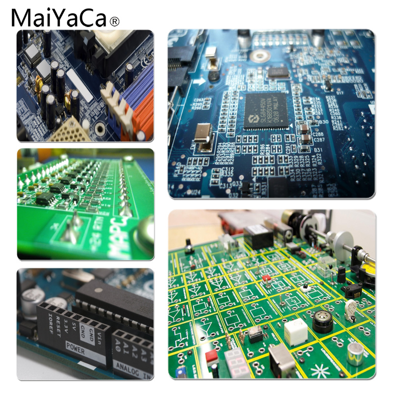 MaiYaCa Retro unique electrical engineering Large Mouse pad PC Computer mat Size for 25X29cm Gaming Mousepads