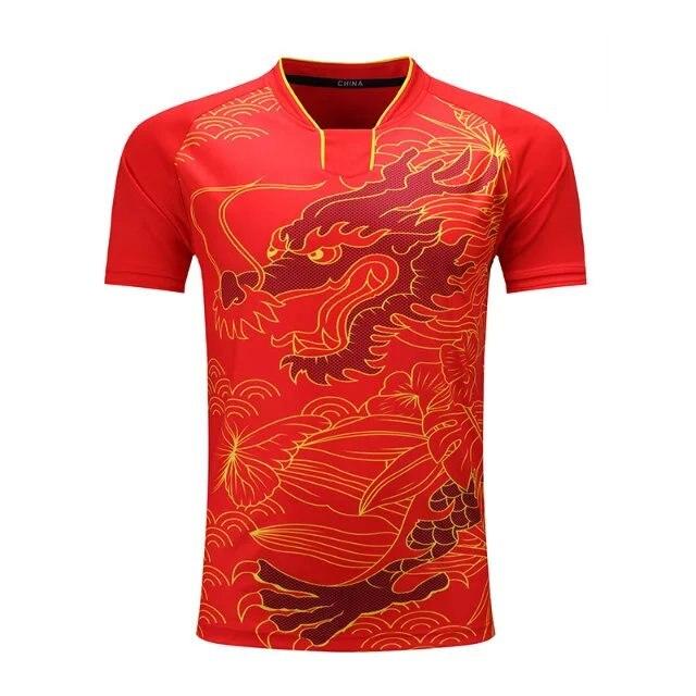 Sportswear Quick Dry Breathable Badminton Shirt,Women/Men Table Tennis Clothes Team Game Running Training Jogging Sport T Shirts