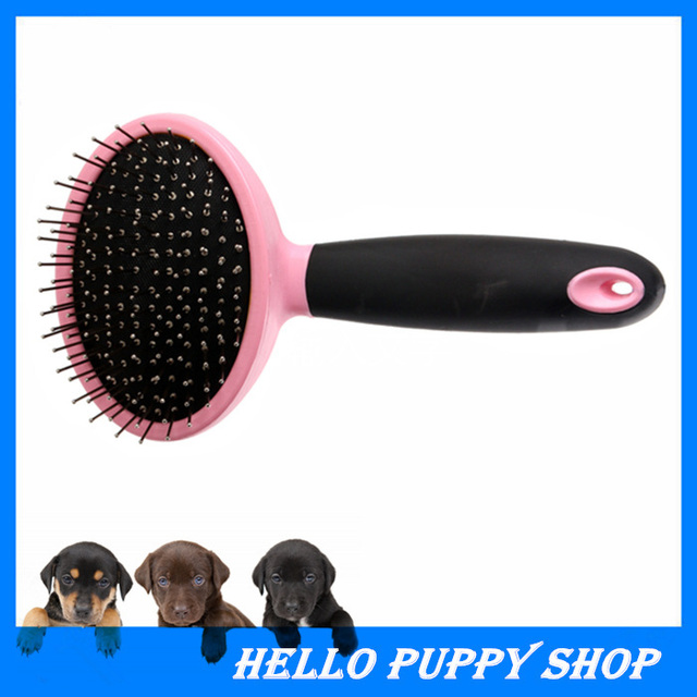 Soft Comfortable Plastic Handle Brush Airbag Pet Grooming Pin Comb Steel Needles For Small Dog Cat Dog Accessories