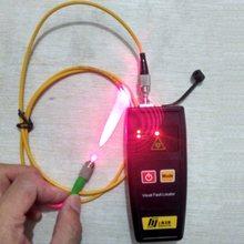 O envio gratuito de fibra óptica laser 50mw 30 10mw 1mw localizador visual falha vfl fibra detector cabo testador