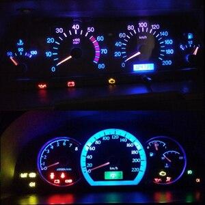 Image 4 - WLJH 6x PC74 T5 LED אור מנורת רכב מכשיר לוח אור לוח מחוונים נורות עבור הונדה אקורד CR V סיוויק אודיסיאה פרלוד CRX S2000