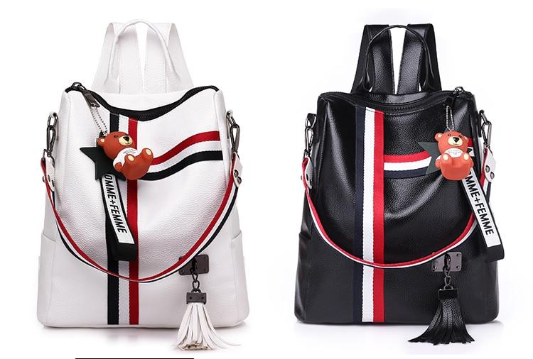 2018 New Retro Fashion Ladies Backpack-0009