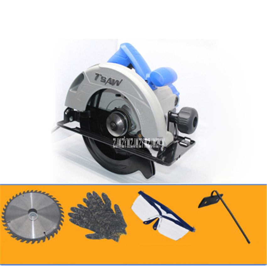 цена на New 7 Inch Electric Circular Saws M1Y-DS-185 Industrial Grade Saws 1100W Cutting Machine Electric Woodworking Tools 220V/50HZ