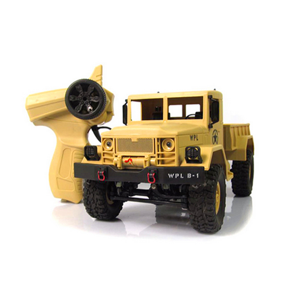 MUQGEW Brand Toys WPLB-14 RC Cars 1:16 Toy Grade 4WD RC Military Truck Wireless Remote Control Car Off-Road Buggy Toy for Boy