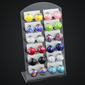 12 pair / 1 lot Newest Brincos Fashion Jewelry stud Earrings For Women Stars Handmade Glass Beads  Earrings HE11