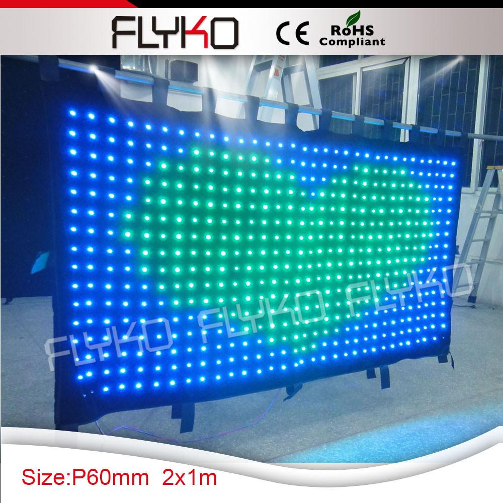 led video curtain 32