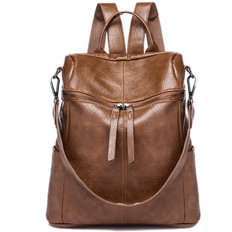 Новая мода рюкзак Для женщин кожа школьная сумка для девочек дамы плечо сумки женские Weekender Рюкзак Повседневное рюкзак