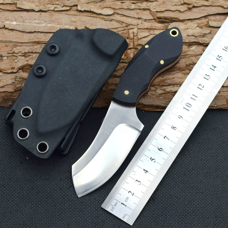 59HRC 9CR18MOV Steel Blade Fixed Blade Knife G10 Handle Hunting Tactical Knifes Camping Survival Knives Outdoor EDC Tools cr02  цены