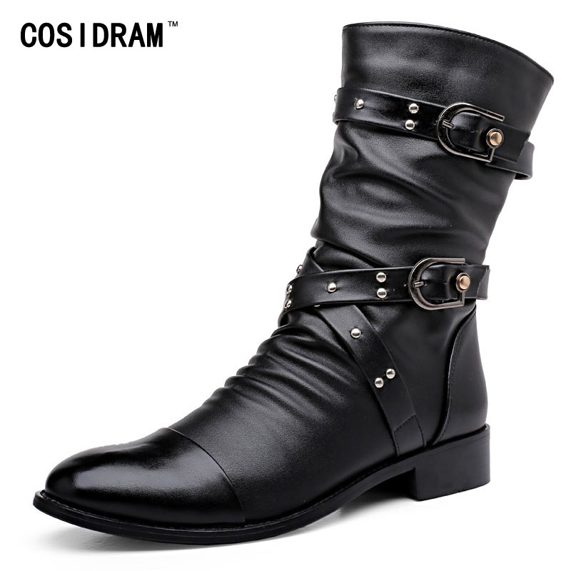 Popular Men Boots Buckle Strap-Buy Cheap Men Boots Buckle Strap ...