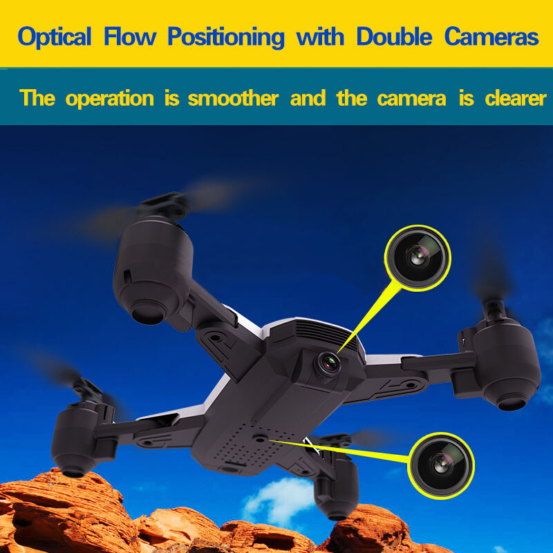 SCOTPALY Best 1080P Drone With Camera HD Optical Flow Positioning Quadrocopter