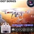 Original diez colores Drones DM007 GW007 GW007-1 versión mejorada 4CH 6-Axis 2.4 G RC Quadcopters puede añadir HD 2MP cámara VS X5C H12C