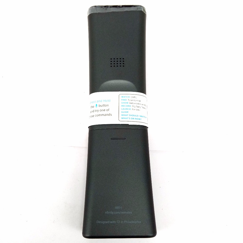 XR11 Premium Voice Activated Cable TV Backlit Remote Control  Comcast/Xfinity XG1 Xi3 X1 Series