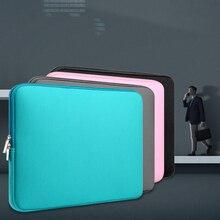 全体の販売 1 Pc のラップトップ防水スリーブのためにレノボ Macbook Air 11 12 13 14 15 15.6 インチカバープロジッパーバッグ