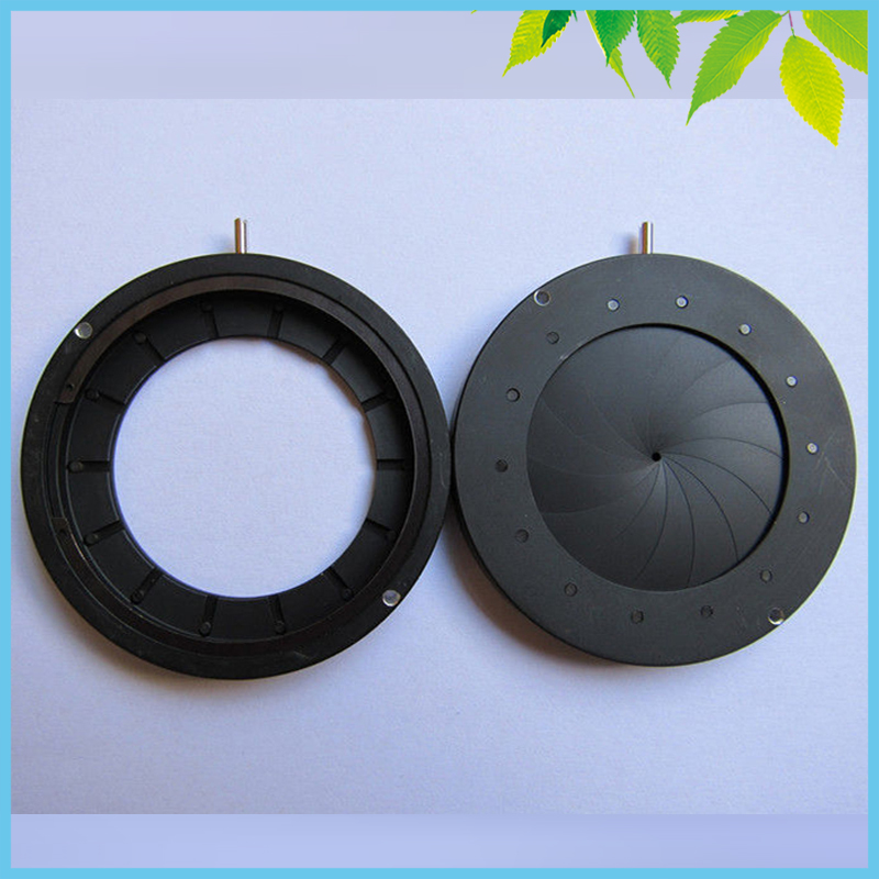 1.5-36mm Zoom Adjustable Iris Diaphragm Aperture Condenser Laser Camera Parts Condenser with 14 Blades  цены